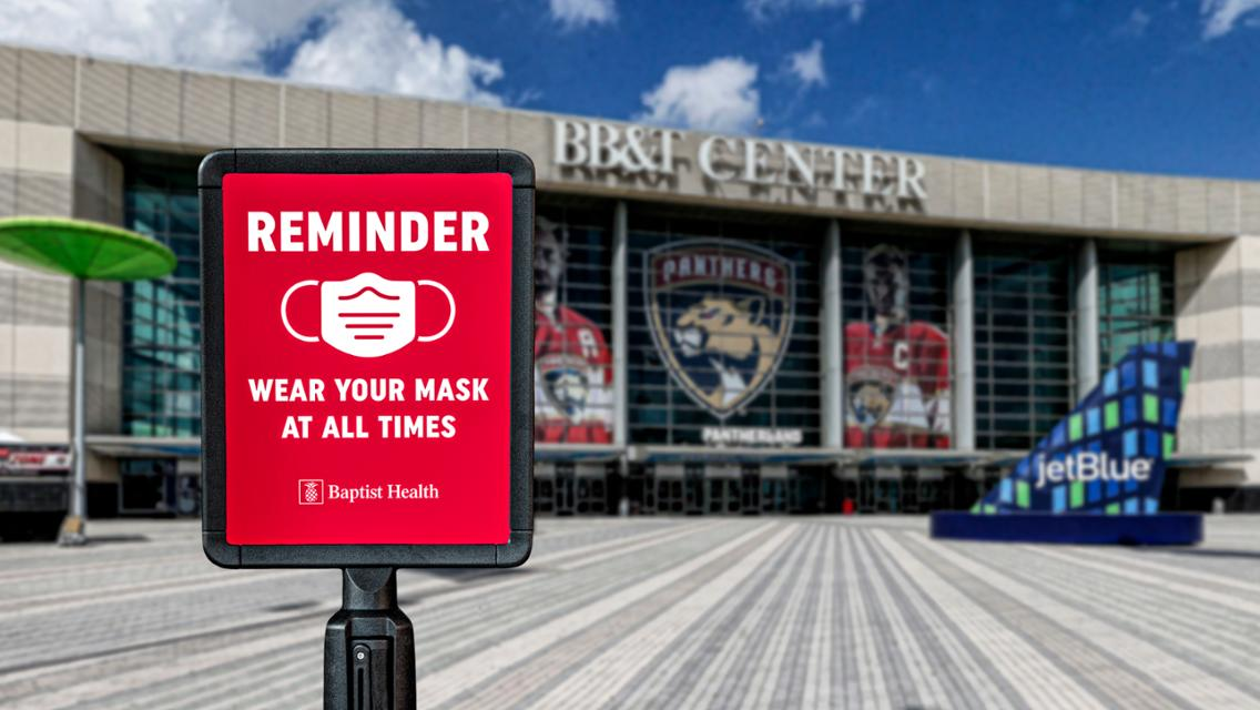 Florida Panthers Announce Limited Arena Capacity for 2020-21 Season