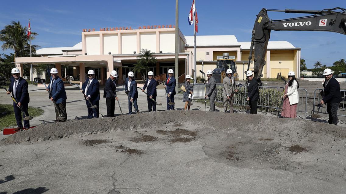 Florida Panthers Host Ceremonial Groundbreaking at FTL War Memorial